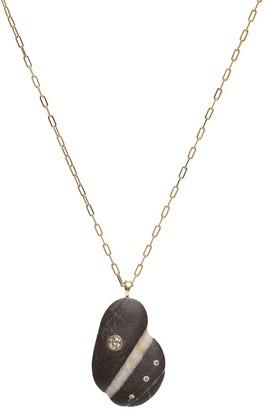 Cvc Stones 18kt yellow gold diamond Desire necklace
