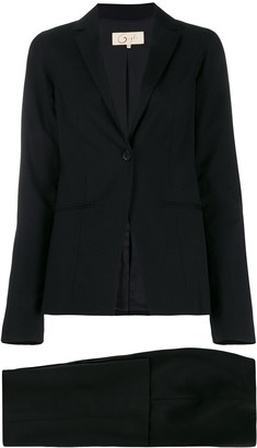 Romeo Gigli Pre Owned 1990s Slim-Fit Two-Piece Suit