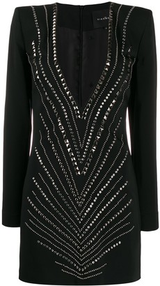 John Richmond Ammena studded mini dress