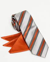 Le Château Stripe Tie & Pocket Square Set