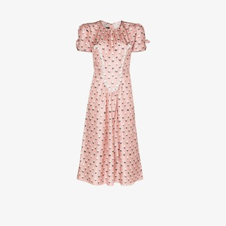 Marc Jacobs The 40s icing print silk dress