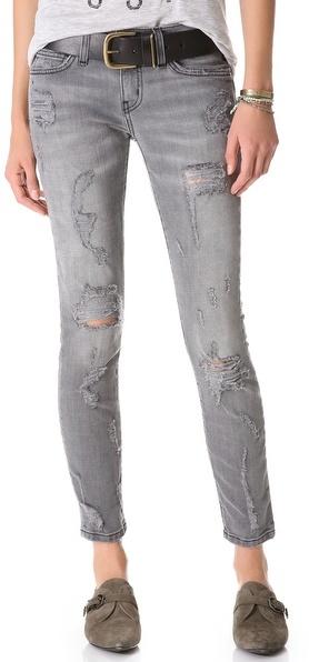 Current/Elliott The Shredded Stiletto Jeans