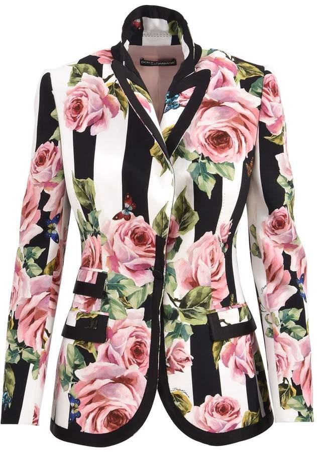 Dolce & Gabbana Floral Blazer
