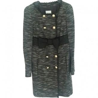 Moschino Cheap & Chic Moschino Cheap And Chic Black Cotton Coat for Women