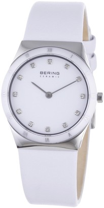 Bering Men's Analogue Quartz Watch with Leather Strap 32230-684