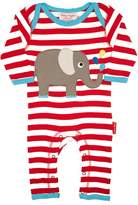 House of Fraser Toby Tiger Babies elly applique sleepsuit