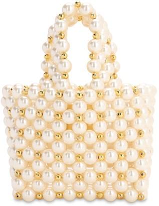 VANINA The Reveries Pearl Top Handle Bag