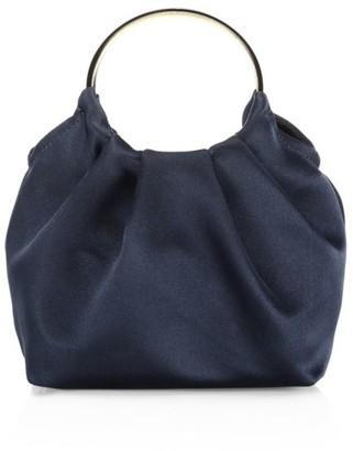 The Row Micro Satin Double Circle Bag