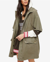 Free People Reworked Cotton Army Jacket