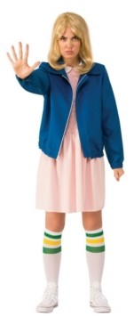BuySeasons Women's Stranger Things Eleven's Blue Jacket Adult Costume