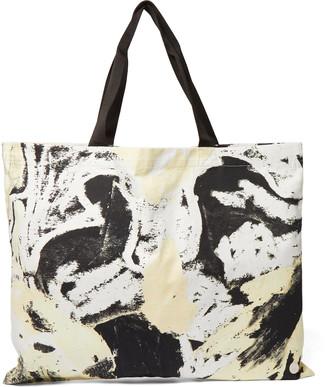 Folk + Alfie Kungu Printed Cotton-Twill Tote Bag