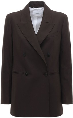 CASASOLA Wool Double Breast Blazer