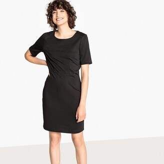 Vero Moda Fitted Bodycon Dress with Short Sleeves
