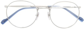Vogue Eyewear Clear Glasses With Round Frames