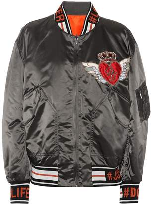Dolce & Gabbana Reversible bomber jacket