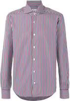 Kiton striped shirt - men - Cotton - 41
