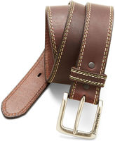 John Deere Buffalo Leather Bridle Belt