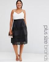 Lovedrobe Lace Detail Skirt