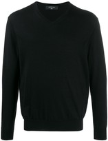 N.Peal 007 Fine Gauge V Neck Sweater