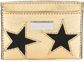 Stella McCartney star card holder - women - Polyester/Polyurethane - One Size