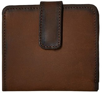 STS Ranchwear Chaquita Wallet (Tornado Brown) Handbags