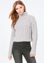 Bebe Cable Sweater