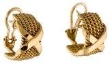 Tiffany & Co. 18K X Earrings