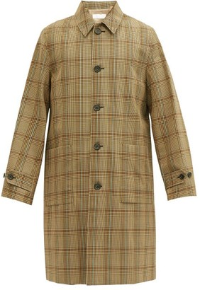 Helmut Lang Houndstooth-check Twill Car Coat - Multi