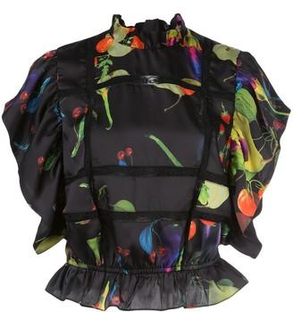 Cynthia Rowley Camille silk blouse