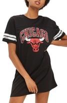 Topshop Women's By Unk Chicago Bulls T-Shirt Dress