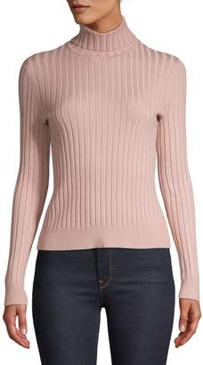 Sfw Ribbed Long Sleeve Turtleneck