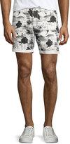 Wesc Rai Printed Shorts, White