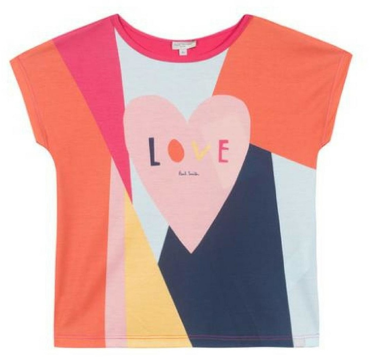 Paul Smith Colourful Printed T-Shirt