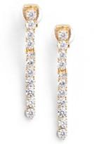 Nadri Women's Cubic Zirconia Linear Drop Earrings