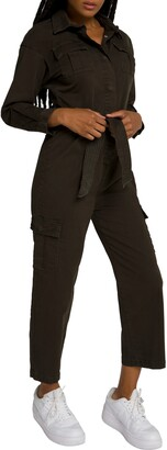 Good American Femflight Crop Jumpsuit