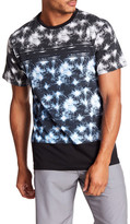 Burnside Short Sleeve Knit Print Tee