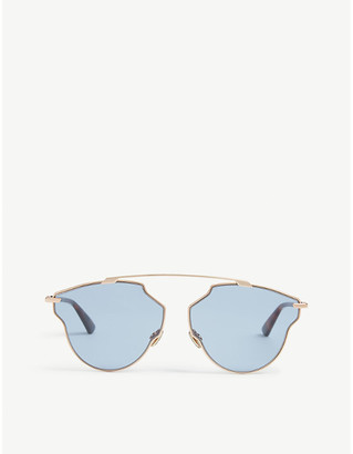 Christian Dior So Real Pop oval-frame sunglasses
