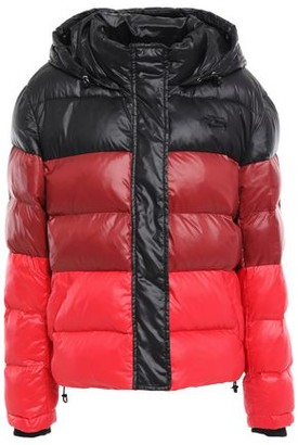 Proenza Schouler Pswl Quilted Color-block Hooded Down Jacket