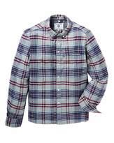 Lambretta Flannel Plaid Check Shirt Long