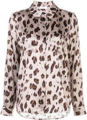 Anine Bing Vivienne leopard-print silk shirt