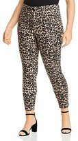 Thumbnail for your product : Seven7 High Rise Skinny Jeans in Leopard
