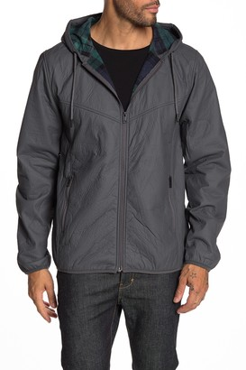 Weatherproof Faux Leather Bonded Polar Fleece Jacket