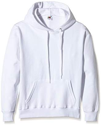 Fruit of the Loom Women's Pull-over Classic Hooded Sweat,14 (Manufacturer Size:)