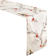 JCPenney Lenox Chirp Bird Pattern Microfiber Table Runner