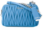 Miu Miu quilted crossbody bag - women - Leather - One Size