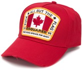 DSQUARED2 Canada patch baseball cap
