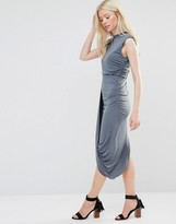 Wal G Dress With Asymmetric Hem