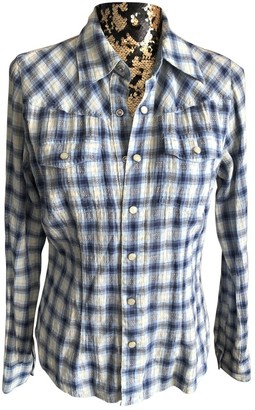Tommy Hilfiger Blue Cotton Top for Women