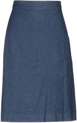 Alessandro Dell'Acqua Denim skirts