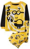 Crazy 8 Minions Fuzzy 2-Piece Pajama Set